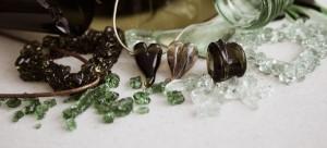 Smycken i returglas