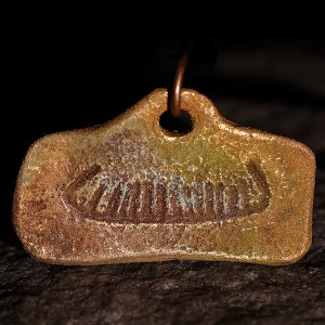 Viking ship in Bronze 240 SEK